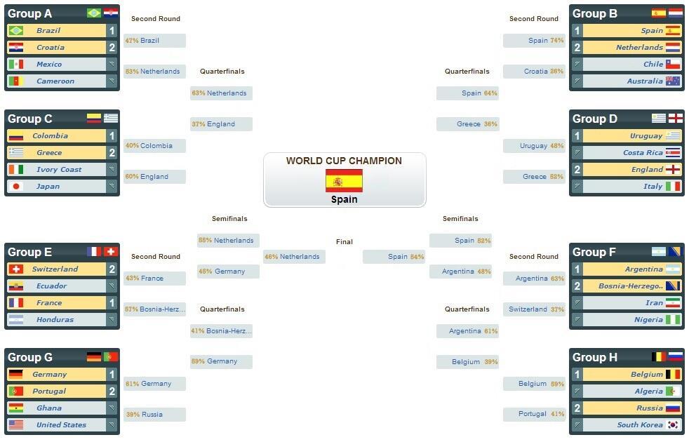 World Cup 2014 Picks